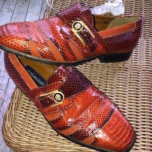 Giorgio Brutini strapped loafers